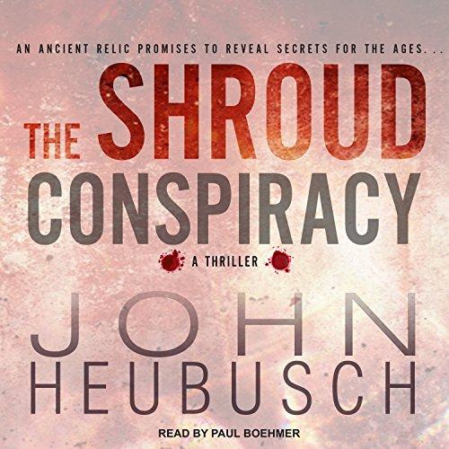 The Shroud Conspiracy audiobook cover art