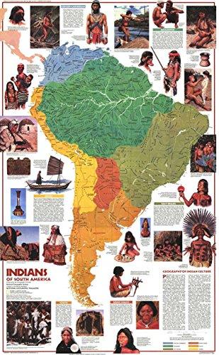 Reproduktion eines Poster–Südamerika–Indianer der (1982)–61x 81,3cm Poster Prints Online kaufen