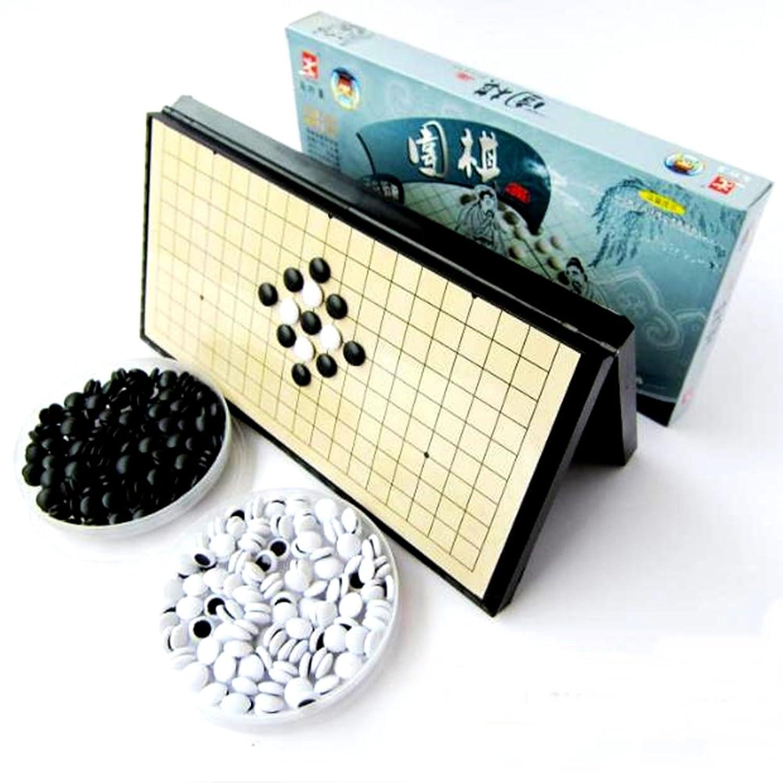 (ワンダフルインポーターズ) Wonderful Importers 囲碁 碁盤 セット ポータブル 折り畳み式 28.5cm ボードゲーム 旅行