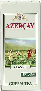 Green Tea Classic from Azerbaijan 25 Tea Bags Envelope 50g (Azercay)