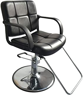 New Classic Hydraulic Barber Chair Styling Salon Home Beauty Equipment Spa/ Black #806