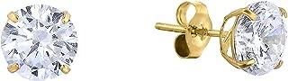 Best 14k yellow gold stud earrings Reviews