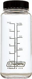 nalgene(ナルゲン) 広口0.5L フラットキャンプ クリア×ブラック 91257
