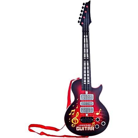 HENG 53cm 4 Cordes Guitare Electrique Enfants Instruments de Musique Jouet Educatif pour Débutant