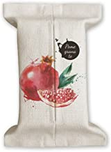 DIYthinker Pamegranate Fruit Tasty Healthy Watercolor Tissue Paper Cover Cotton Linen Holder Storage Container Gift 17X27C...