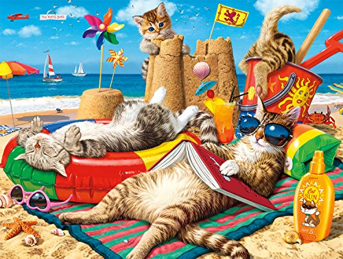 "Buffalo Games - Beachcombers - 750 Piece Jigsaw Puzzle Multicolor, 24""L X 18""W"