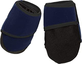 HEALERS Medical Dog Boots and Gauze Pads, Blue