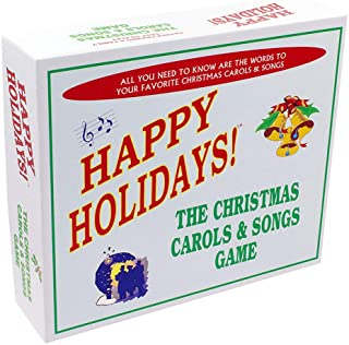Christmas Carols & Songs Game - Includes the best and and most popular Christmas carols and songs in one great board game....