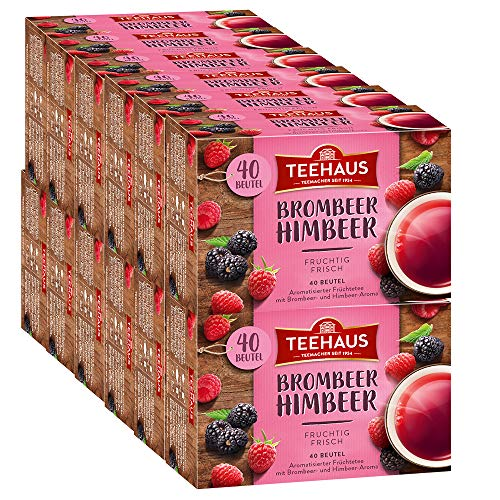 Teehaus Brombeer-Himbeer 12er Pack