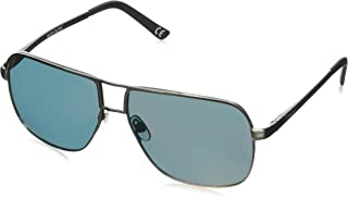 Ollie Smoke with Mirror Sunglasses, Matte Dark Gun/Red