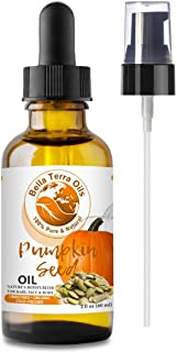 NEW Pumpkin Seed Oil. 2oz. Cold-pressed. Unrefined. Organic. 100% Pure. Anti-aging. Hexane-free. Fights Wrinkles. Softens ...