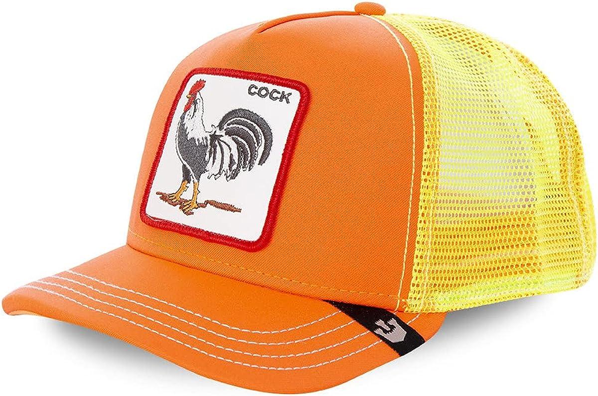 Goorin Bros. Trucker Cap Electric Tamale/Cock Orange/Yellow - One-Size
