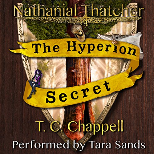 The Hyperion Secret audiobook cover art