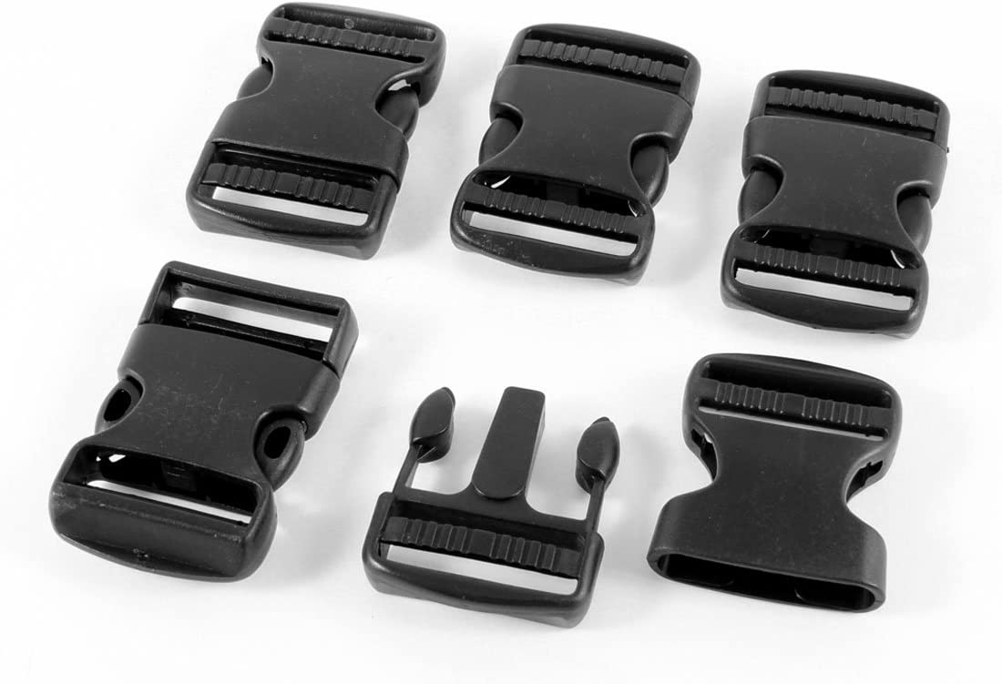 Black Mini Buckle 5 pack