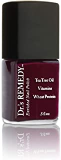 Dr.'s Remedy Enriched Nail Polish - DEFENSE Deep Red