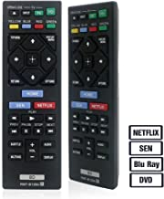 LuckyStar Replacement Lost Remote for Sony Blu-Ray Player RMT-B126A Compatible with BDP-BX150 BDP-BX350 BDP-BX550 BDP-BX650 BDP-S1500 BDP-S2500 BDP-S2900 BDP-S3500 BDP-S4500 BDP-S5500 BDP-S6500