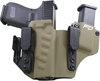 Fierce Defender IWB Kydex Holster Glock 19 23 32 +1 Series w/Claw -Made in USA- Gen 5 Compatible
