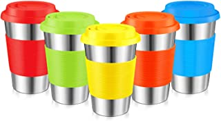 Best stainless steel cups with lids Reviews