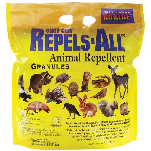 Bonide (BND2362) - Repels-All Animal Repellent, Granules (6 lb.)