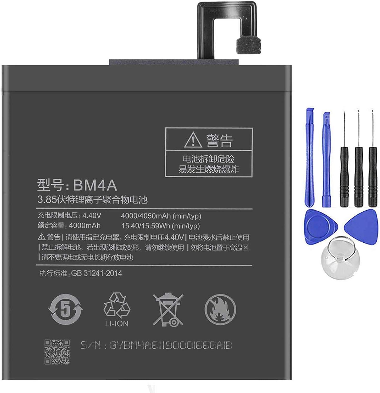 Ellenne Batería compatible con Xiaomi Redmi Pro - Note 7-7 Pro BM4A 4050 mAh con kit de desmontaje incluido