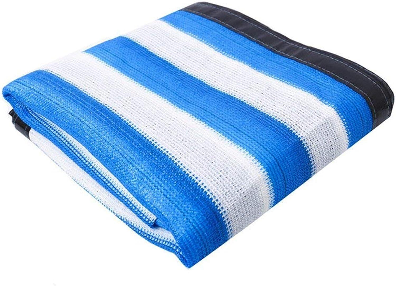 XJLG-Schattierungsnetz Sonnenschutztuch, Treibhausnetz, UV-Schutznetz 50%, 50%, 50%, Blaue und weiße Streifen Schattierungsnetz B07QJBPM9V  Spezielle Funktion c0eb5c