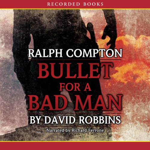 Bullet for a Bad Man audiobook cover art