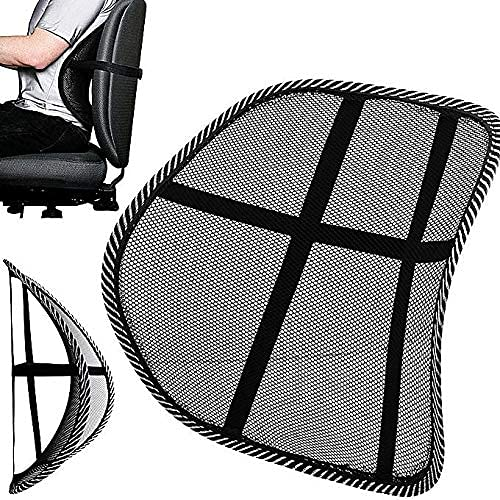 PrimeTrendz Breathable Lumbar Boston Mall Trust Mesh Back chairs home Support for