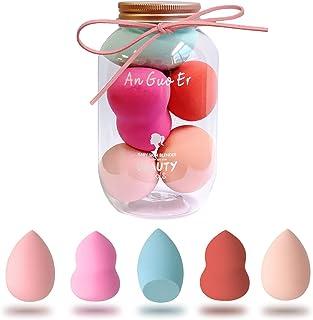 Antzz Makeup Sponge Set Blender Pink Princess Series, Cosmetics Beauty Foundation Blending Sponge, Flawless for Liquid Cre...