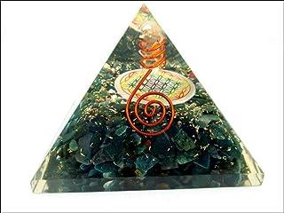 Bloedsteen Bloem van het Leven Piramide Gratis Boekje Kristal Therapie Kersttoren Buster Piezo Elektrische EMF Bescherming...