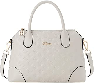 Womens Real Leather Top-Handle Handbags Ladies Fashion Satchel Purses