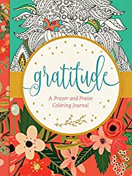 Gratitude book of prayer and praise coloring journal