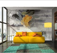 ورق جدران مخصص مرسومة باليد الفاوانيا الحنين اللوحة الزيتية الحديثة مجردة الفن جدار غرفة المعيشة غرفة النوم 3D خلفيات MRQX...