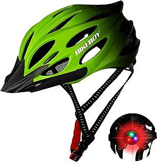 Flu Casco Bicicleta Adulto MTB Road Bicicleta Casco de Bicicleta Adulto Montaña Adultos Deportes Al Aire Libre Casco de Se...