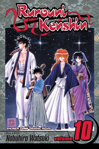 RUROUNI KENSHIN GN VOL 10: Mitsurugi, Master and Student: Volume 10