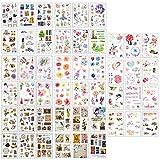 Pegatinas, 48 Hojas Pegatinas Inicio Dulce y Cálido para DIY Manualidades Decoración Scrapbooking Álbumes de Recortes Calendarios Tarjetas (Set B)