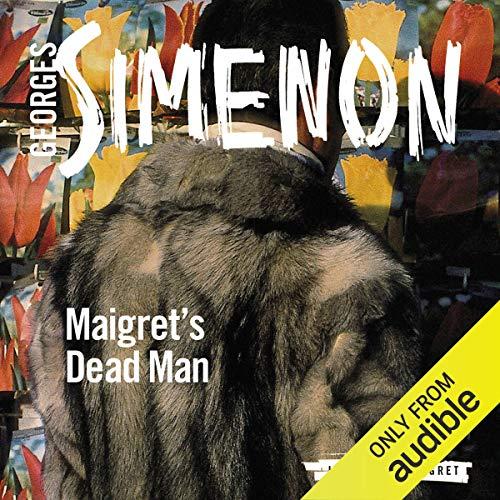 Maigret's Dead Man audiobook cover art