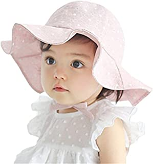 Baby Girl Toddler Kids Sun Hat Summer Outdoor Sun Protection Hat 1-4 Years