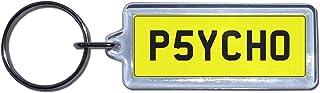 PSYCHO   UK Kennzeichen Schlüsselanhänger