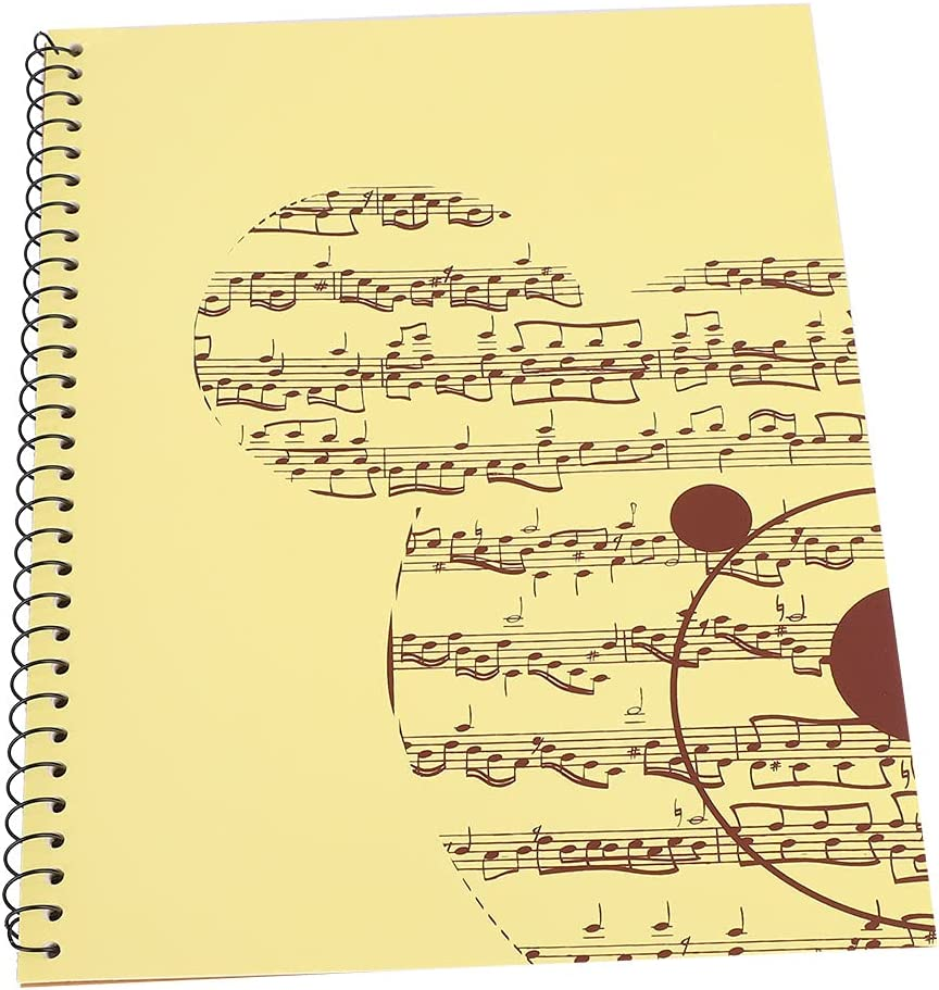 50 Pages Blank Sheet Music free Notebook Musical Paper lowest price Manuscript Not