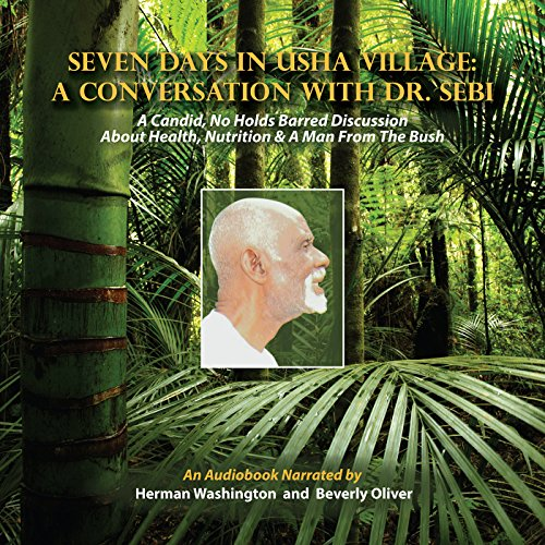 Seven Days in Usha Village audiobook cover art