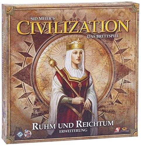 Asmodee Civilization: Das Brettspiel - Ruhm und Reichtum, Erweiterung, Kennerspiel, Deutsch