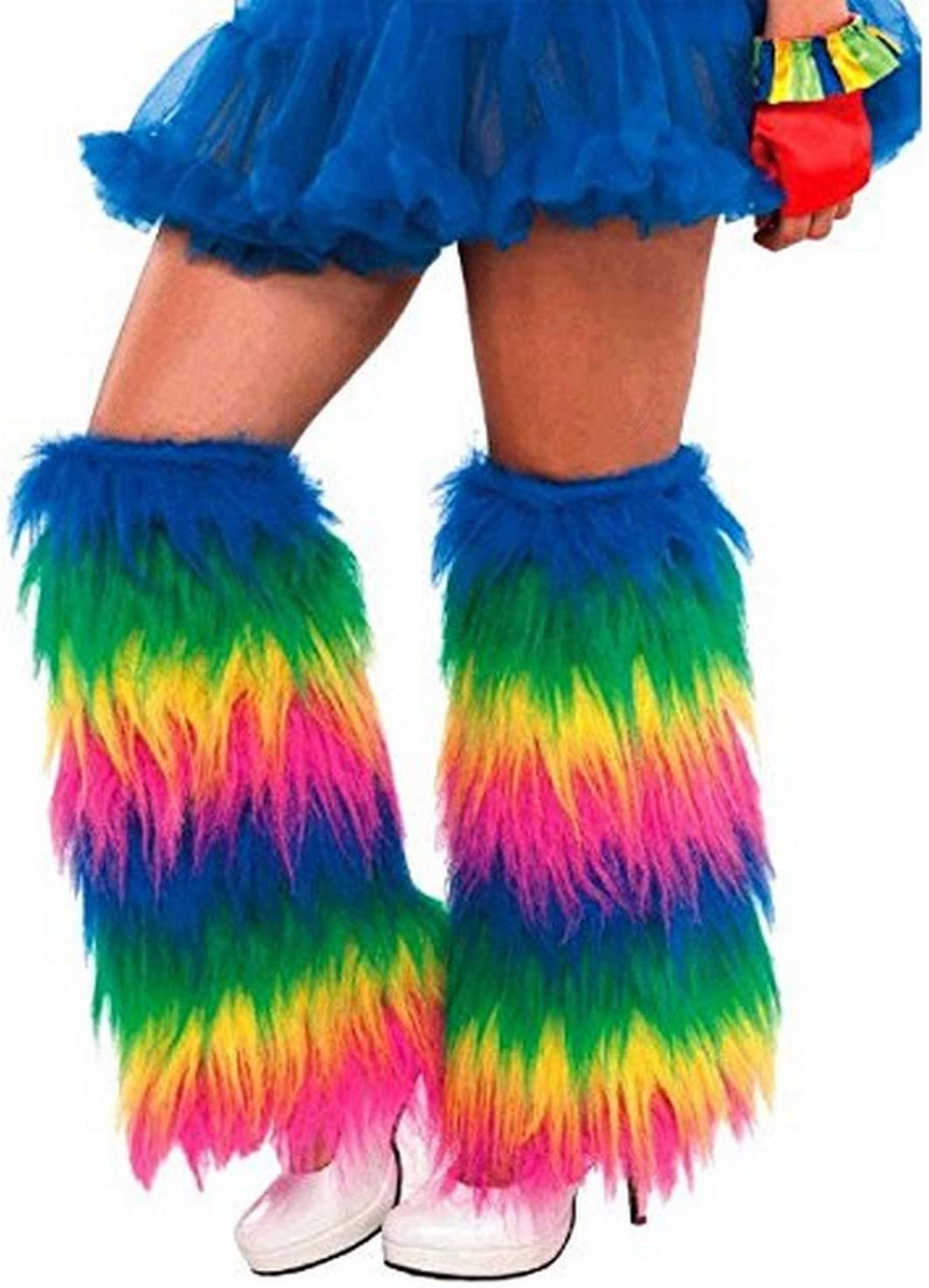 Amscan 843282 Medieval Furry Leg Warmers Adult Standard Size 1 Pair