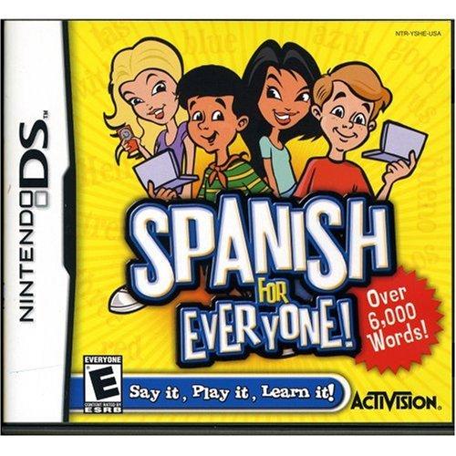 Spanish For Everyone - Nintendo DS