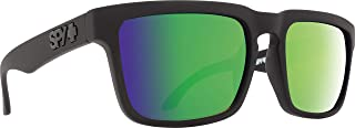 Spy Optic Helm Polarized Flat Sunglasses, Matte Black, 57mm