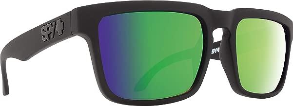 Spy Optic Helm Polarized Flat Sunglasses, Matte Black, 57mm