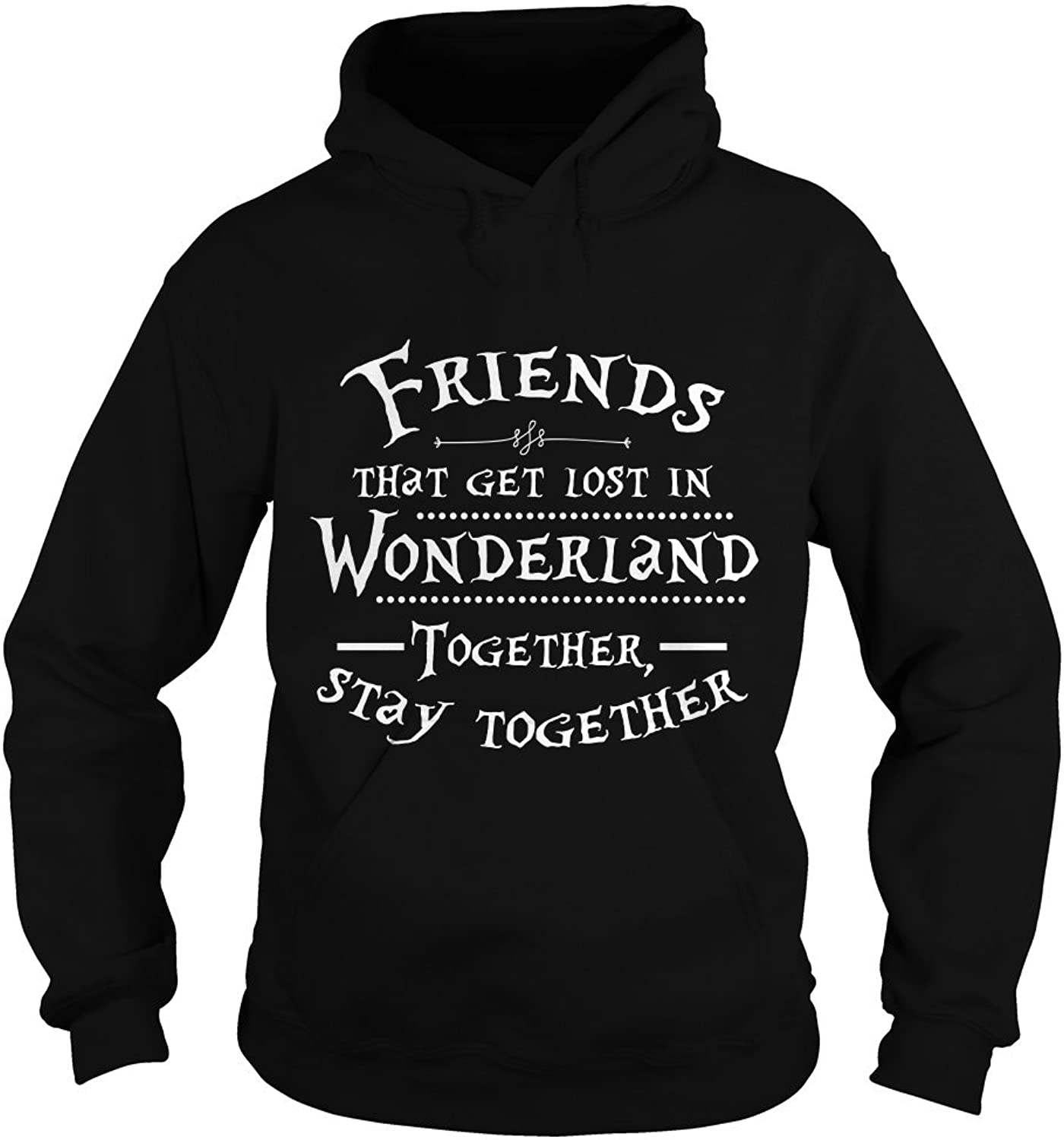 Sleeky Friends That get Lost in Wonderland Together Stay Together TShirt