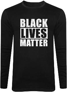 Long Sleeve Black Lives Matter Shirt - I Cant Breathe BLM Full Sleeve Tees