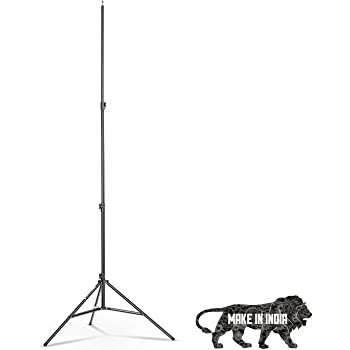 DIGITEK 9 feet Light Stand. Digitek Light Stand are Lightweight & Stable Option for Indoor & Outdoor Photographic Lighting. (DLS-9FEET)