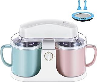 BJH Machine à Desserts glacés - Machine à crème glacée à la Maison - Fait de délicieux yogourt glacé au Sorbet de crème gl...