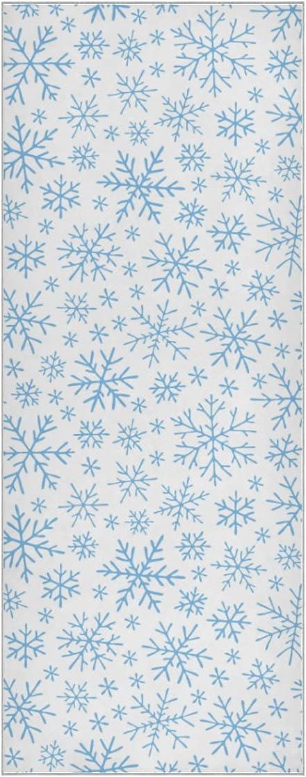 Max 80% OFF Yoga Dedication Mat Towels Winter Snow Super Set White Snowflacks
